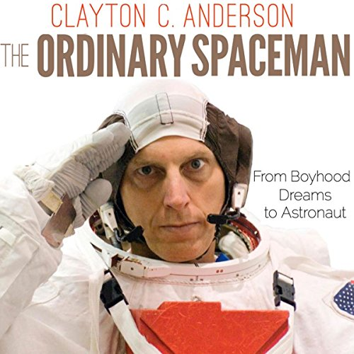 The Ordinary Spaceman audiobook cover art
