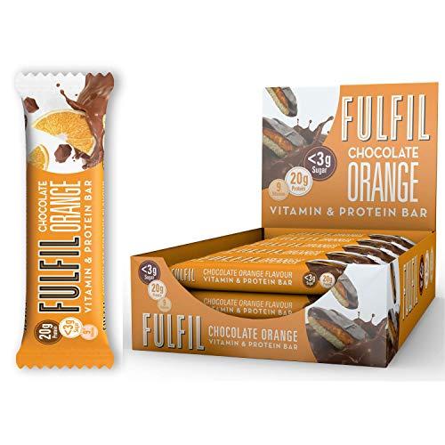 Fulfil Nutrition Erfülle Vitamin & Protein Bar 15x55g Schokolade Orange