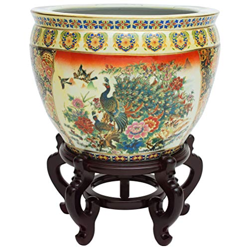 Orientalisches Möbel-Pflanzgefäß Asiatisch 16