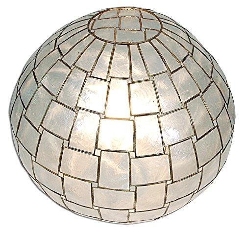 Naeve lichten schelp tafellamp