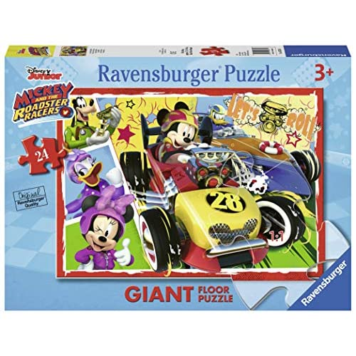 Ravensburger Italy- Mickey And The Roadster Racers Topolino Puzzle da 24 Pezzi, 05331