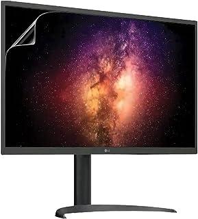 Celicious Levande osynlig glansig HD skärmskydd film kompatibel med LG Monitor UltraFine OLED Pro 32 32BP95E [2-pack)