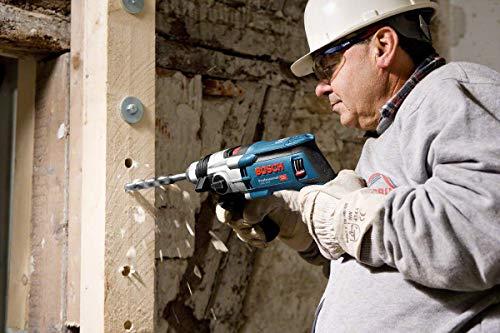 Bosch Professional Perceuse à percussion GSB 20-2 (850 W, couple nominal : 5,2/2,0 , Ø de perçage dans la maçonnerie : 20 mm, L-Case)