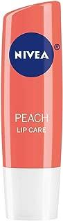 Nivea Peach Lip Care 0.17 oz / 4.8 g (Pack of 1)