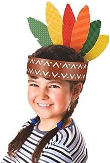 thanksgiving crafts indian headband