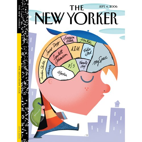 The New Yorker (Sept. 4, 2006) audiobook cover art