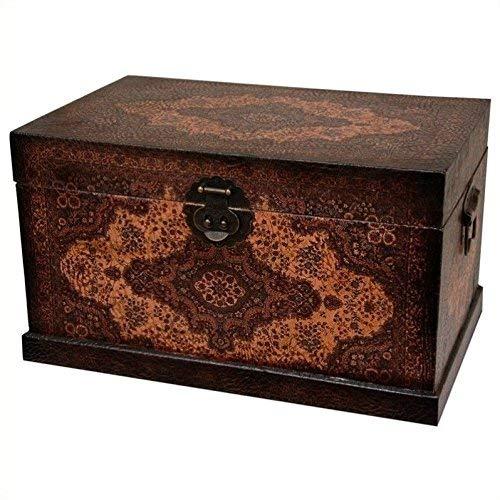 Oriental Furniture Olde-Worlde Baroque Storage Box
