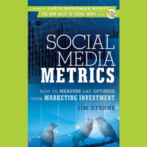 Couverture de Social Media Metrics: How to Measure and Optimize Your Marketing Investment
