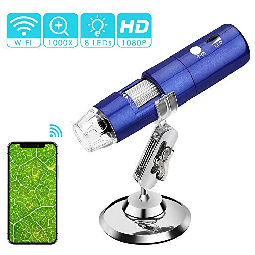 UNIIKE Inalámbrico Digital microscopio