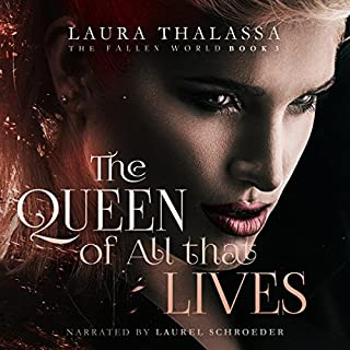 Page de couverture de The Queen of All That Lives