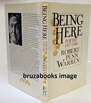 Being Here: Poetry 1977-1980 0394739353 Book Cover