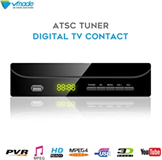 Vmade ATSC Digital TV Converter Box for Analog TV w/1080p HDMI Output,USB Multimedia Playback and HDTV Set Top Box