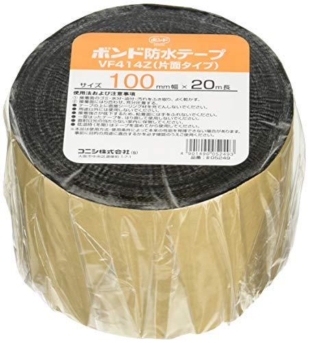 コニシ ボンド 建築用ブチルゴム系防水テープ 片面粘着 VF414Z-100 幅100mm×長20m #05249