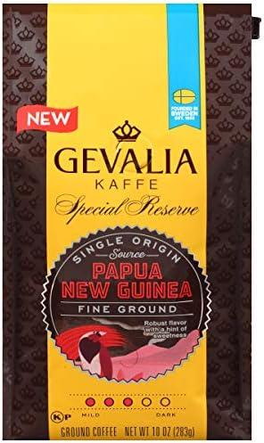GEVALIA Special Reserve Papua New Guinea Medium Roast Fine Ground Coffee 10 oz Bag product image