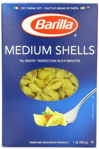 Medium Pasta Shells, 16oz (Pack of 12)