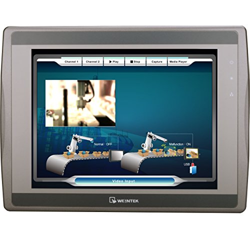 New eMT3105P Weintek 10.4″ Graphic HMI