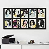 3D HD Printing Mick Jagger Poster und Drucke Andy Warhol