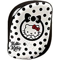 Tangle Teezer Compact Styler Hello Kitty Peine, Negro y Blanco - 150 gr