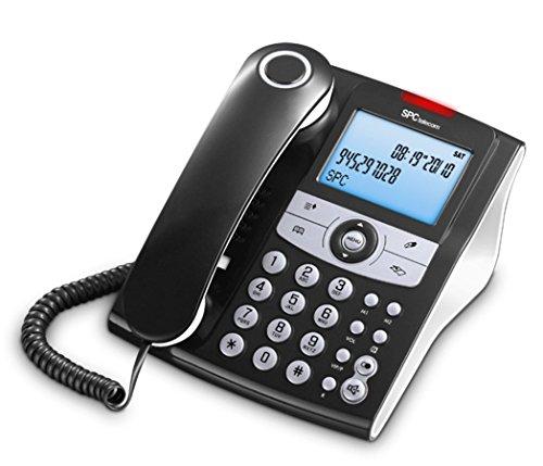 SPC Elegance ID teléfono fijo agenda 70 nombres números