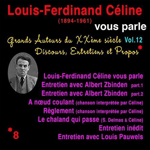 Couverture de Louis-Ferdinand Céline vous parle