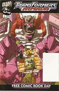 Transformers: Armada #1 Free Comic Book Day Edition May 2003