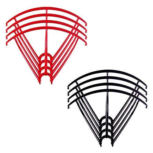 MZWNQ Accesorios de Piezas de Drones Protección de Cuchillas Protector de Marco para Syma X5 X5C X5C-1 X5SC X5SW Protectores de hélice RC Quadcopter Accesorios Repuestos de Drones Accesorios