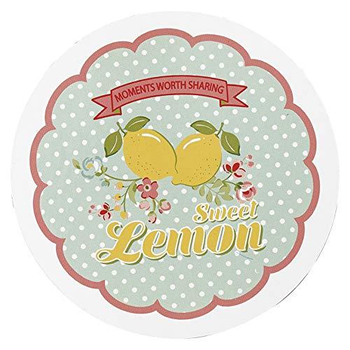Greengate PLACOALIM2906 Limona Soucoupe pour Pot de Fleurs Bleu 10 cm