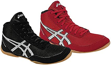 Matflex ASICS Boxing Shoes Black (1