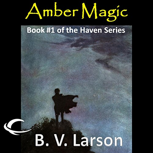 Amber Magic audiobook cover art