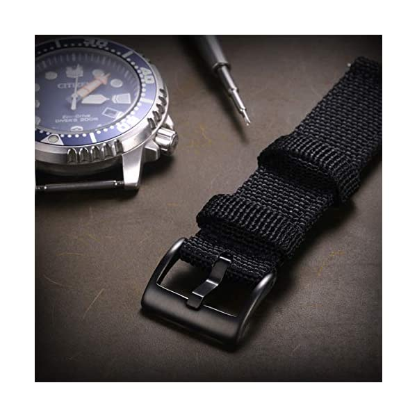 Torbollo Watch Buckle, Black Rose Gold Silver Stainless Steel Watch Clasp 16mm 18mm 20mm 22mm 24mm for Leather Silicone Watch Bands