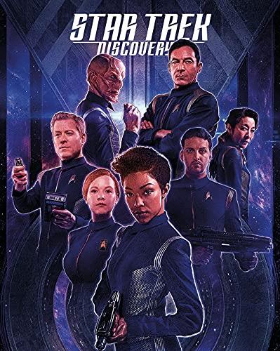 Star Trek Discovery Season 2 35cm x 44cm 14inch x 18inch Silk Print Poster 014- Fabric Cloth Wall Decor Home Decor