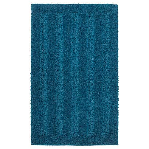 IKEA.. Badteppich Emten 204.228.86 dunkelblau