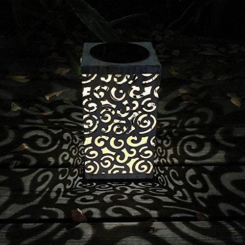 Demiawaking zonnelampen outdoor tuin lantaarn LED hangende lamp gesneden wolken waterdicht warm wit nacht licht voor tuin pad ornamenten