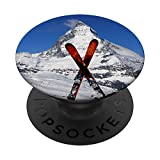 Esquiador Matterhorn Suiza Mountaineer Ski Snow Lover Regalo...