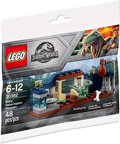 Lego Baby Velociraptor Playpen