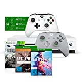 """Xbox One S 1TB - Battlefield V Bundle + Xbox Wireless Controller """"Grey and Green"""" Special Edition"""