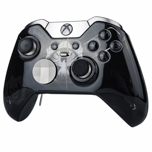 """Black Night"" Xbox One ELITE Rapid Fire Custom Modded Controller 40 Mods for All Major Shooter Games, Auto Aim, Quick Scope, Auto Run, Sniper Breath, Jump Shot, Active Reload & More"
