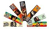 10 Bob Marley Rolling Papers King Size Hemp 110mm & Zen Roller Rolling Machine