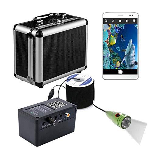 XINTONGSPP Buscador de Peces bajo el Agua, HD WiFi WiFi Wireless Pesca de Pesca, grabación de Video, admite grabación de Video y Tome la Foto,30m