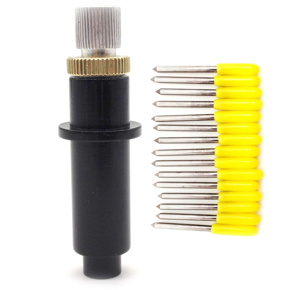 30 Grado Mimaki cuchillas de cutter cortador de vinilo Plotter 5pcs de transferencia de calor + Mimaki de soporte para hoja de vivienda: Amazon.es: Bricolaje y herramientas