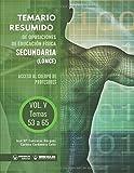 Temario resumido de oposiciones Educación Física (LOMCE) Volumen V: Acceso al cuerpo de profesores de Enseñanza Secundaria