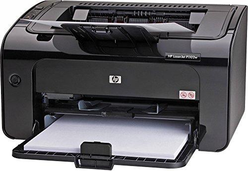 HEWCE658A - HP LaserJet Pro P1102W Laser Printer - Monochrome - 600 x 600 dpi Print - Plain Paper Print - Desktop (Renewed)
