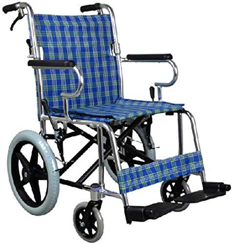 QUETAZHI Behinderte Ältere Rollstuhl Einfache Deck Ältere Erwachsene Ältere Menschen mit Behinderungen Drive Medical Medizintechnik QU523