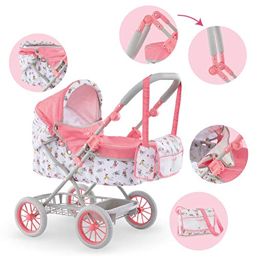 Corolle – Mon Grand Poupon Carriage carriola – Mango Ajustable, diseño Plegable, para muñecas de 14…
