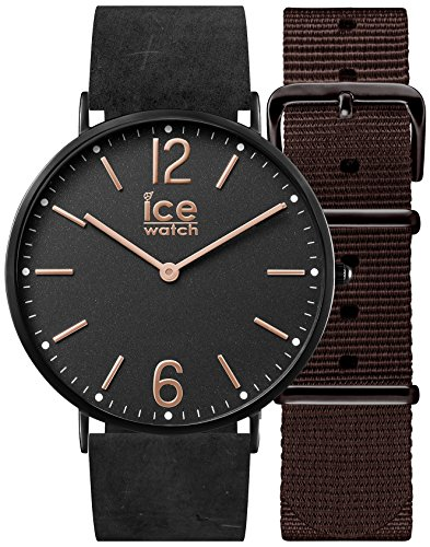 Ice-Watch - CITY Cottage - Women's wristwatch with leather strap + extra nylon strap - 001385 (Small)
