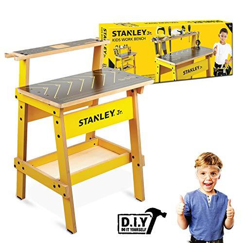 Stanley Jr. WB002-SY werkbank voor kinderen, geelzwart