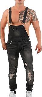 each women Men Slim Jumpsuit Ripped Work Dungarees Classic Denim Bib Overalls Streetwear Dungaree Overalls