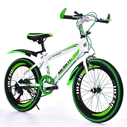 MUYU Kindermountainbike 20 Inch (22 Inch, 24 Inches) Koolstofstaal Frame 6-Speed Road Fiets