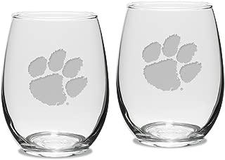 Best clemson etched glasses Reviews