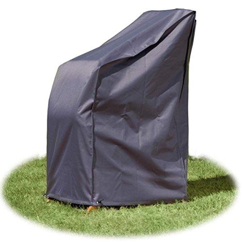 Housse Bâche Protection Chaises de Jardin empilables 65x65x150 cm